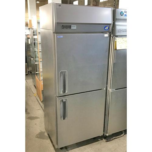 【中古】縦型冷凍冷蔵庫 パナソニック(Panasonic) SRR-K761C 幅745×奥行650×高さ1950 【送料別途見積】【業務用】