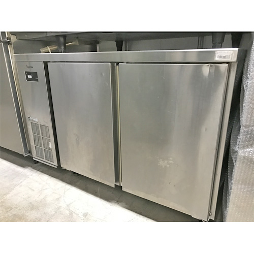 【中古】冷蔵コールドテーブル フジマック FEFT-1275KP 幅1200×奥行750×高さ850 【送料別途見積】【業務用】