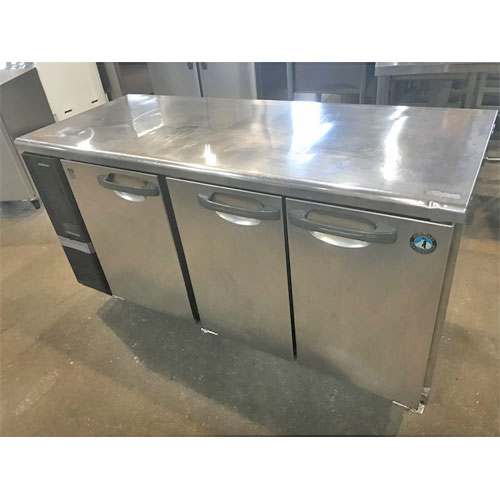 【中古】冷凍冷蔵コールドテーブル ホシザキ RFT-150PNE1 幅1500×奥行600×高さ800 【送料別途見積】【業務用】