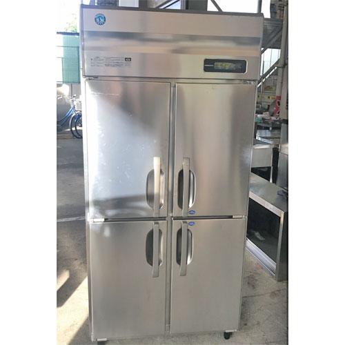 【中古】縦型冷凍冷蔵庫 ホシザキ HRF-90LAFT 幅900×奥行650×高さ1920 【送料別途見積】【業務用】