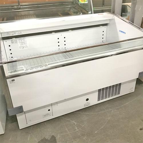 【中古】平型冷蔵ショーケース サンデン PHO-R5GZ-C 幅1500×奥行880×高さ912 【送料別途見積】【業務用】