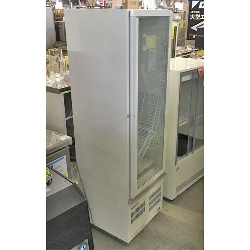 【中古】冷蔵ショーケース スイング扉付き パナソニック(Panasonic) SMR-R70SKMB 幅460×奥行492×高さ1522 【送料無料】【業務用】