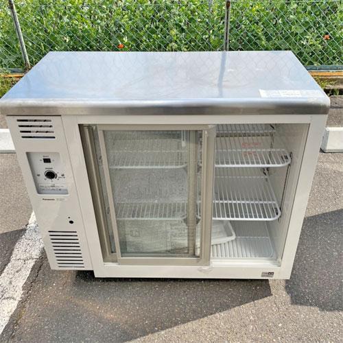 【中古】冷蔵ショーケース パナソニック(Panasonic) SMR-V941N 幅900×奥行450×高さ790 【送料別途見積】【業務用】