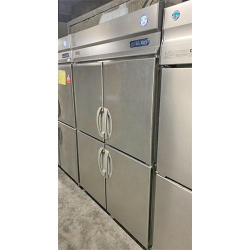 【中古】縦型冷凍冷蔵庫 1凍3蔵 フクシマガリレイ(福島工業) ARD-121PM 幅1200×奥行800×高さ1950 【送料別途見積】【業務用】