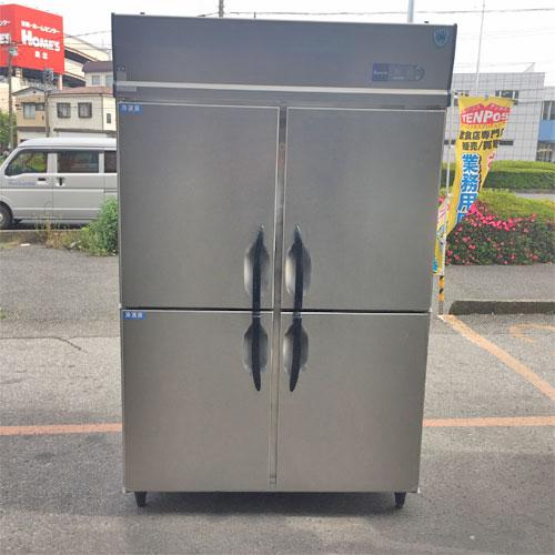 【中古】冷凍冷蔵庫 大和冷機 421S2-EC 幅1200×奥行800×高さ1905 【送料別途見積】【業務用】