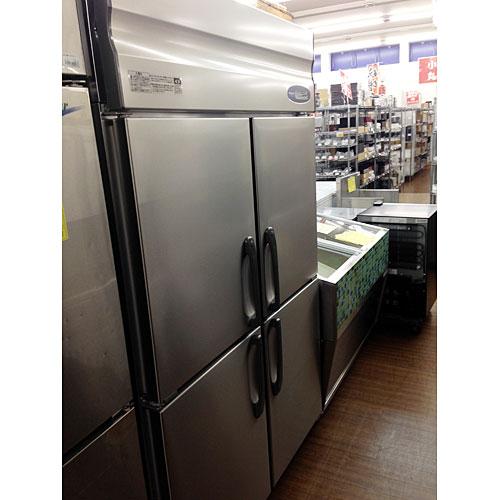【中古】縦型冷凍冷蔵庫 ホシザキ HRF-120ZT3 幅1200×奥行650×高さ1950 三相200V 【送料別途見積】【業務用】