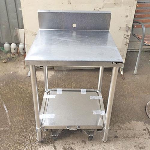 【中古】炊飯作業台 マルゼン 幅600×奥行600×高さ800 【送料別途見積】【業務用】