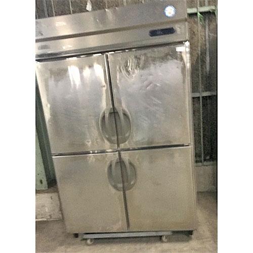 【中古】縦型冷蔵庫 フクシマガリレイ(福島工業) URN-120RM6 幅1200×奥行650×高さ1890 【送料別途見積】【業務用】
