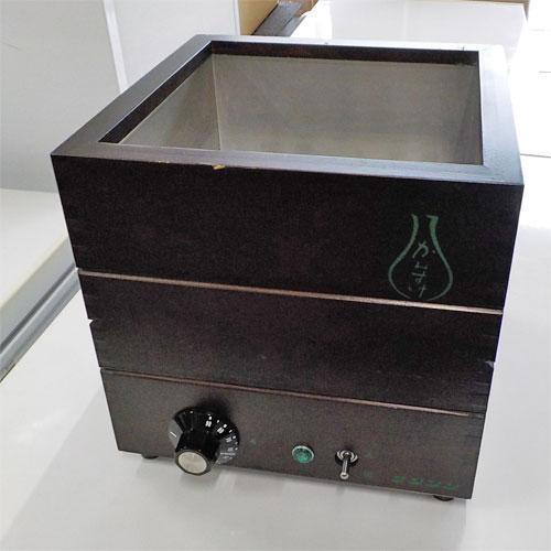 【中古】酒燗器 サンシン TK-4A 幅255×奥行255×高さ250 【送料無料】【業務用】