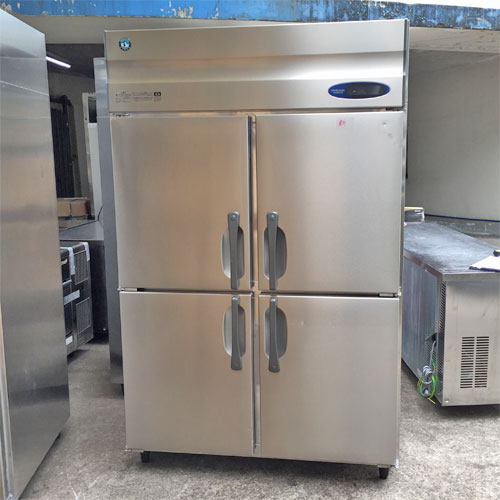 【中古】縦型冷蔵庫 ホシザキ HR-120ZT3 幅1200×奥行650×高さ1890 三相200V 【送料別途見積】【業務用】