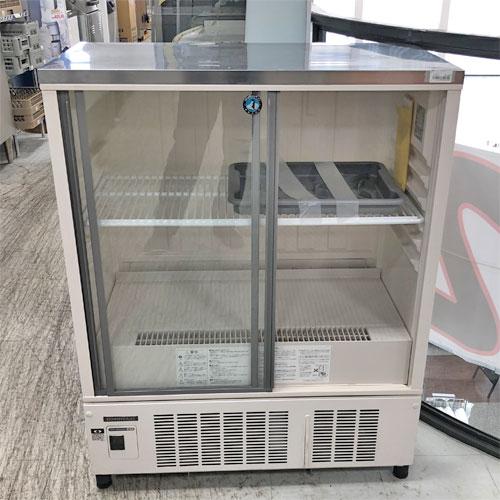 【中古】冷蔵ショーケース ホシザキ SSB-85CLT2 幅850×奥行450×高さ1080 【送料別途見積】【業務用】