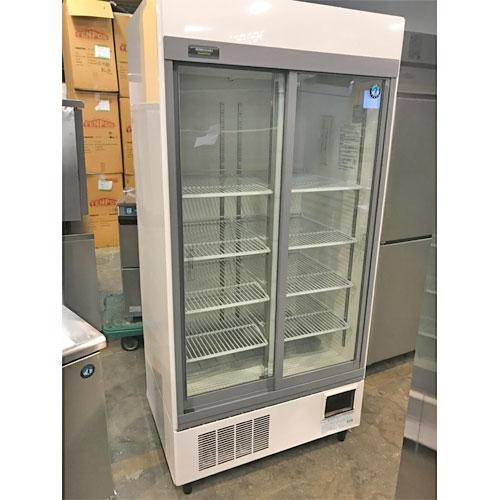 【中古】冷蔵リーチインショーケース ホシザキ RSC-90D 幅900×奥行650×高さ1880 【送料別途見積】【業務用】