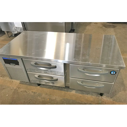 【中古】冷蔵ドロワーコールドテーブル ホシザキ RTL-120DNF 幅1200×奥行600×高さ550 【送料別途見積】【業務用】
