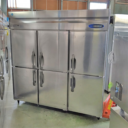 【中古】6ドア冷蔵庫 ホシザキ HR-180LZ 幅1800×奥行800×高さ1910 【送料別途見積】【業務用】