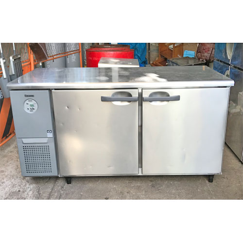 【中古】冷蔵コールドテーブル 大和冷機 5171CD-EC 幅1500×奥行750×高さ800 【送料別途見積】【業務用】