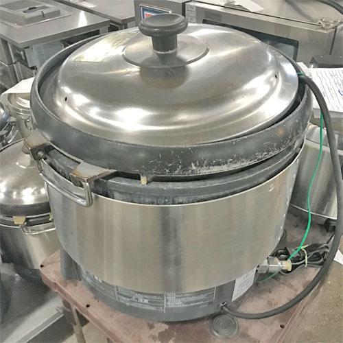 【中古】ガス炊飯器 リンナイ RR-S300G 幅466×奥行439×高さ460 LPG(プロパンガス) 【送料無料】【業務用】