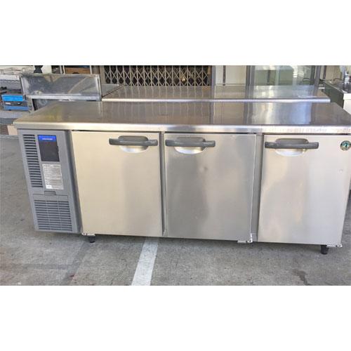 【中古】冷蔵コールドテーブル ホシザキ RT-180SNF 幅1800×奥行600×高さ800 【送料別途見積】【業務用】