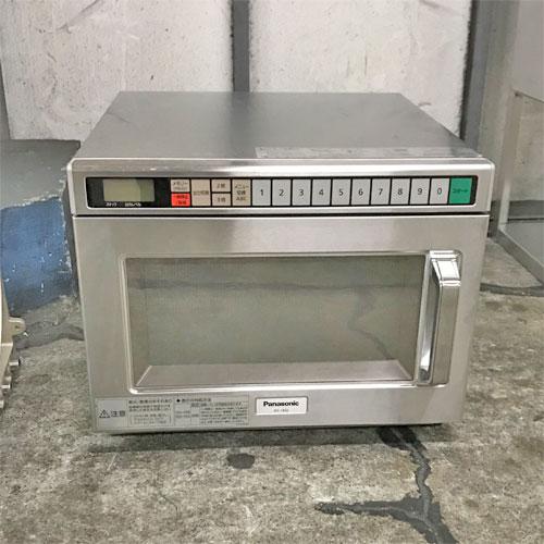 【中古】電子レンジ パナソニック(Panasonic) NE-1802 幅425×奥行475×高さ340 【送料別途見積】【業務用】