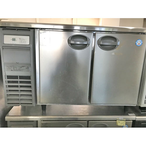 【中古】冷蔵コールドテーブル フクシマガリレイ(福島工業) YRC-120RM2 幅1200×奥行600×高さ800 【送料無料】【業務用】