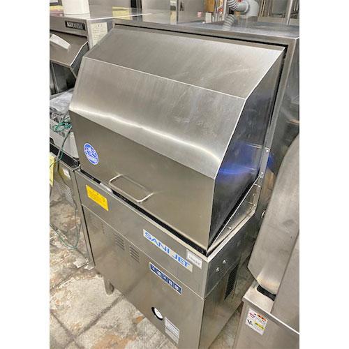 【中古】食器洗浄機 日本洗浄機 SD64EA3 幅600×奥行600×高さ1410 三相200V  【送料別途見積】【業務用】