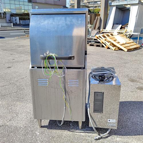 【中古】食器洗浄機 ブースト付き ホシザキ JWE-450RB-R 幅600×奥行600×高さ1380  【送料別途見積】【業務用】