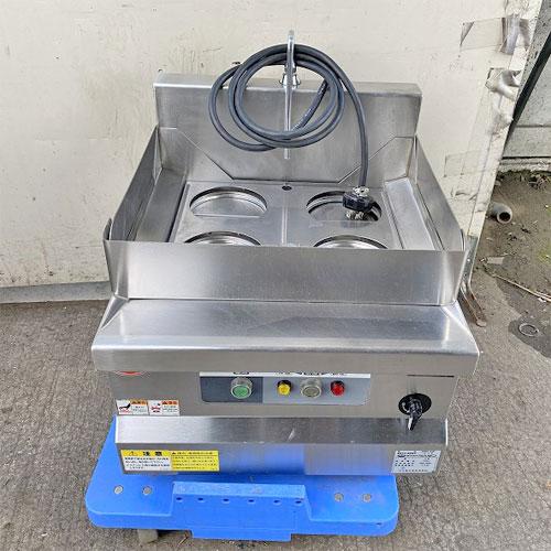 直接引取の場合は送料追加なし 1年保証 川口厨房機器専門館 2021 05 04-R 価格 交渉 送料無料 中古 電気式卓上ゆで麺機 送料別途見積 マルゼン 三相200V 幅450×奥行530×高さ300 業務用 MREK-045T