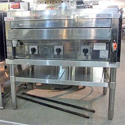 【中古】【業務用】焼物器 幅760×奥行410×高さ350 三相200V 押切電機【送料無料】