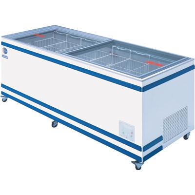 【業務用/新品】 ダイレイ 冷凍冷蔵切替式ショーケース 570L GTXS-77 【送料無料】【厨房機器】