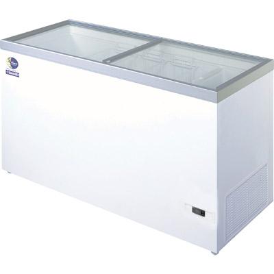 【業務用/新品】 ダイレイ 冷凍ショーケース -50度 368L HFG-400D 【送料無料】