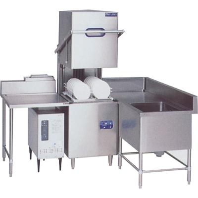 【業務用食器洗浄機】【マルゼン】食器洗浄器 ドアタイプ L型ユニット 自然排気式ブースターWB-S31搭載【MDB5-WBS31LU】【送料無料】【業務用】【新品】