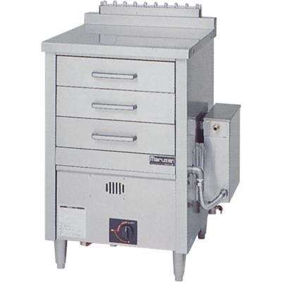 【蒸器】【マルゼン】ガス式蒸器 ドロワータイプ 1槽式 引出し3個【MUD-13C】【送料無料】【業務用】【新品】