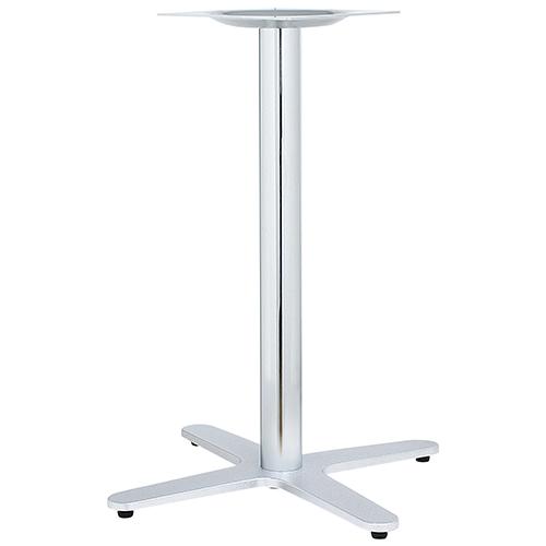 ハヤシ アルミ鋳物テーブル脚 ベースサイズ:A650×B475×C475×高さ700mmまで指定可 品番:GB-C-650 塗装カラー:11C ポール:76φ/送料別