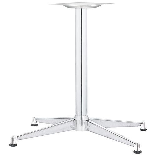ハヤシ アルミダイキャストテーブル脚 ベースサイズ:A745×B650×C395×高さ700mmまで指定可 品番:HC-XN-750 塗装カラー:11 ポール:60φ/送料別