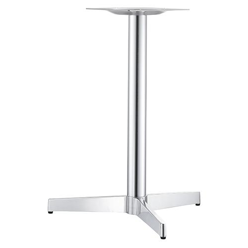 ハヤシ アルミダイキャストテーブル脚 ベースサイズ:A695×B605×高さ700mmまで指定可 品番:CK-T-400 塗装カラー:11 ポール:60φ/送料別