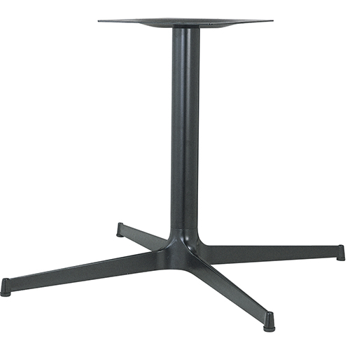 ハヤシ アルミ鋳物テーブル脚 ベースサイズ:A1035×B740×C740×高さ700mmまで指定可 品番:CL-1000 塗装カラー:44 ポール:76φ/送料別