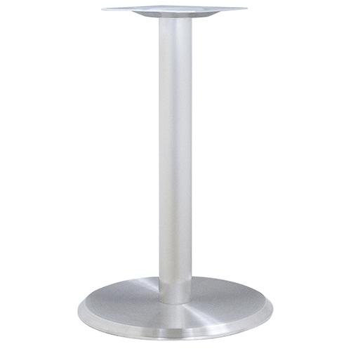 ハヤシ ステンレスH.Lベーステーブル脚 ベースサイズ:A400φ×高さ700mmまで指定可 品番:RS-5D(ステンレスH・L) 塗装カラー:ポールステンレスヘアーライン ポール:60φ/送料別