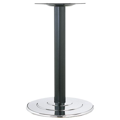 ハヤシ スチールベーステーブル脚 ベースサイズ:A650φ×高さ700mmまで指定可 品番:R-3D 塗装カラー:14 ポール:101φ/送料別