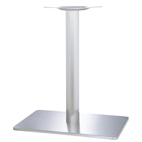 ハヤシ ステンレスH.Lベーステーブル脚 ベースサイズ:A700×B500×高さ700mmまで指定可 品番:TST (ステンレスH・L) カラー:ポールステンレスヘアーライン ポール:139φ/送料別