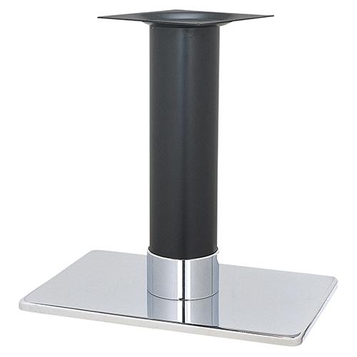 新品未使用 ハヤシ スチールベーステーブル脚 通信販売 ベースサイズ:A680×B450×高さ700mmまで指定可 品番:TST-L 送料別 塗装カラー:141-H ポール:165φ
