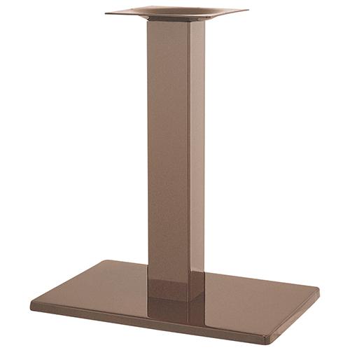ハヤシ スチールベーステーブル脚 ベースサイズ:A550×B370×高さ700mmまで指定可 品番:TST-K 塗装カラー:99 ポール:100角/送料別