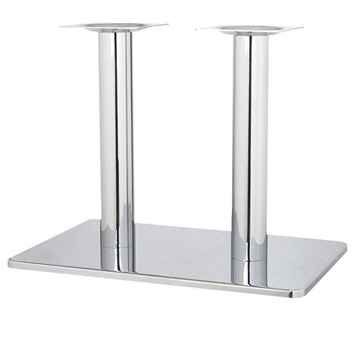 お見舞い ハヤシ スチールベーステーブル脚 日本最大級の品揃え ベースサイズ:A680×B450×高さ700mmまで指定可 品番:TST-W 塗装カラー:11 送料別 ポール:101φ×2