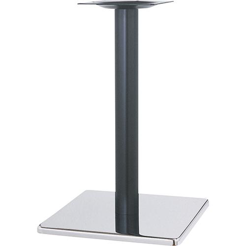 ハヤシ スチールベーステーブル脚 ベースサイズ:A570×B570×高さ700mmまで指定可 品番:ST 塗装カラー:14 ポール:101φ/送料別