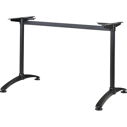 ハヤシ アルミダイキャストテーブル脚 ベースサイズ:A660×高さ700mm迄指定可×間口(芯々)1000mm 品番:S-DX-660 塗装カラー:44 ポール:42φ/送料別