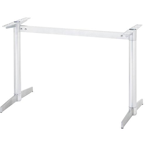 ハヤシ アルミダイキャストテーブル脚 ベースサイズ:A600×高さ700mm迄指定可×間口 授与 定番スタイル 芯々 1600mm 塗装カラー:18 送料別 品番:CK-S-600 ポール:60φ