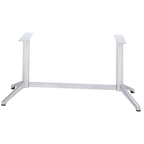 ハヤシ アルミ鋳物テーブル脚 ベースサイズ:A608×B185×高さ700mm迄指定可×間口 芯々 1000mm 付与 送料別 塗装カラー:88 品番:DC-V-350 限定タイムセール ポール:76φ