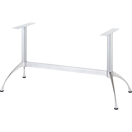 ハヤシ アルミダイキャストテーブル脚 無料 ベースサイズ:A650×B195×高さ700mm迄指定可×間口 芯々 1000mm 安値 塗装カラー:18 ポール:60φ 品番:SS-V-360 送料別