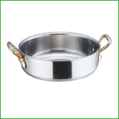 SA スーパーデンジ 外輪鍋 (蓋無) 24cm [3-0005-0302] 【業務用】【送料無料】