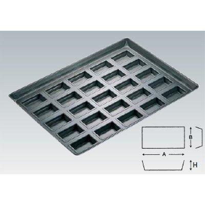 プロアスターシャンテーヌ型天板 25面/業務用/新品/小物送料対象商品