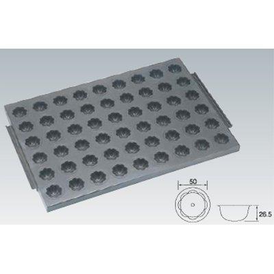 シリコン加工 小花型天板 54面 SN9301/業務用/新品 /テンポス