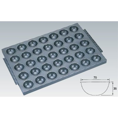 シリコン加工 丸わん型天板 35面 SN9101/業務用/新品 /テンポス